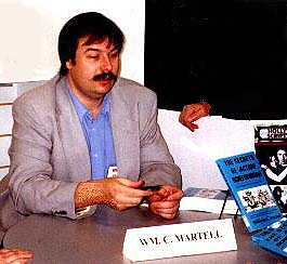 William C. Martell at the Showbiz Expo